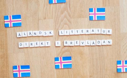 Åländsk litteratur direkt i brevlådan