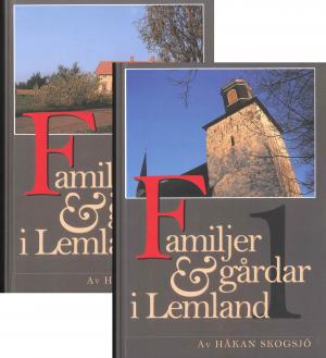 Familjer & Gårdar i Lemland. Band 1&2 - Skogsjö