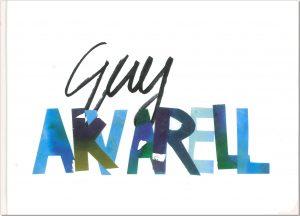 Guy akvarell - Frisk