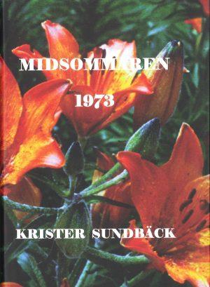Midsommaren 1973 - Sundbäck