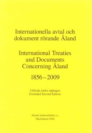 Internationella avtal och dokument rörande Åland